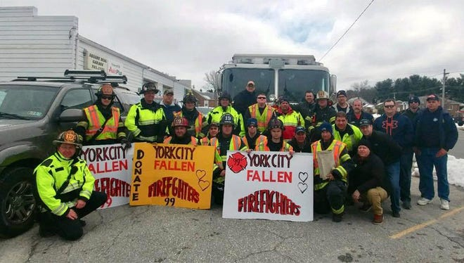 Over the weekend, the York Township Fire Department raised $20,000 to donate to the York City Firefighters Fund. Members and others were out on the streets, collecting donations.