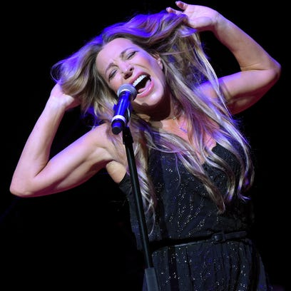 Singer Taylor Dayne attends PETA's 35th Anniversary Party at Hollywood Palladium in 2015. She gives a free concert in Tuckahoe, Sept. 24, 2016.