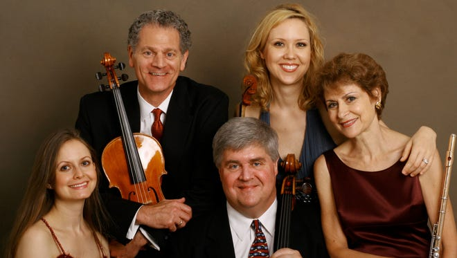 The American Chamber Players will perform as part of the Asheville Chamber Music Series.