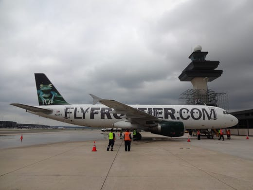 New Frontier Airlines routes: 22 nonstop options added