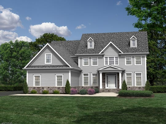 The Amhearst is one of the floor plans that will be built at The Preserve at Fawn Run in Branchburg. It has 3,665 square feet.