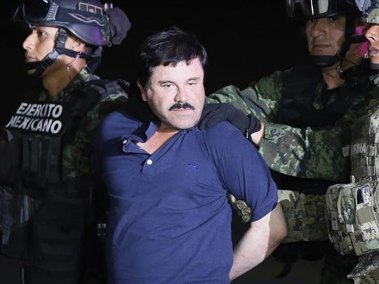 En 2016 fue capturado Joaquín 'El Chapo' Guzmán, y posteriormente extraditado a EEUU.