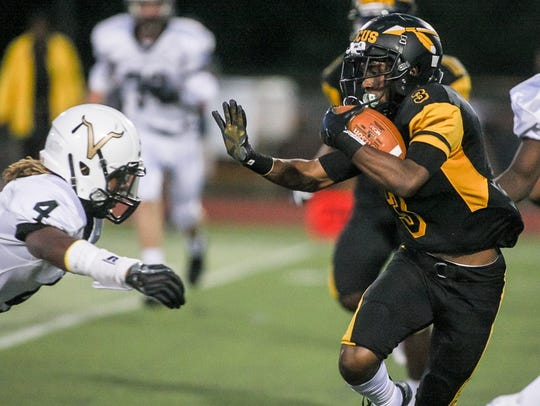 South Brunswick at Piscataway football on Friday, Sept.