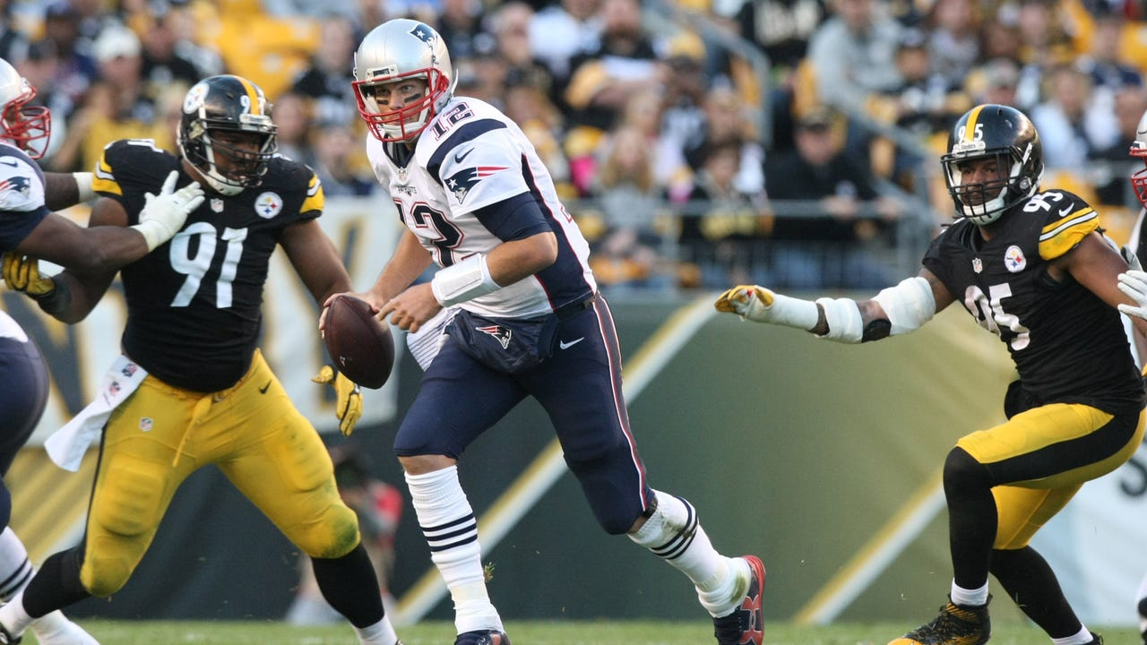 27e26cba Patriots must protect Tom Brady from Steelers' peaking pass rush