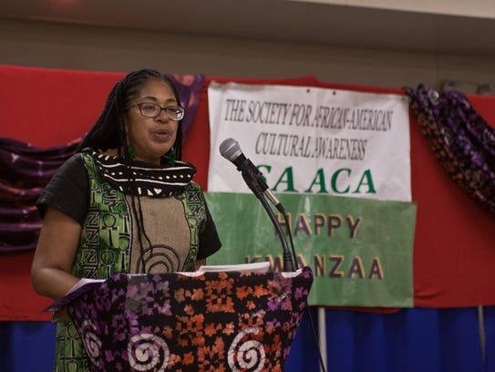 Wendy Trice Martin, president of the Society for African-American