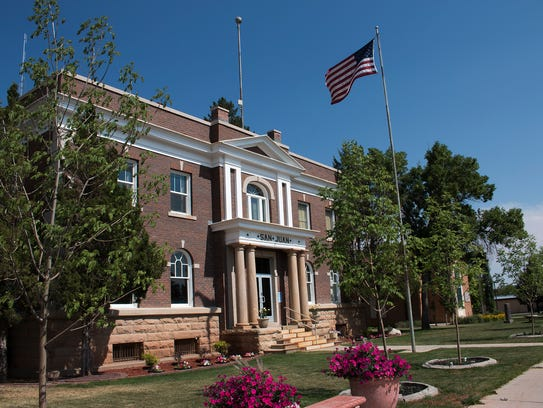 The San Juan County Administrative Building is home