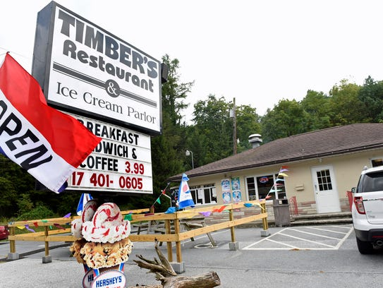 Timber's Restaurant and Ice Cream Parlor is open at