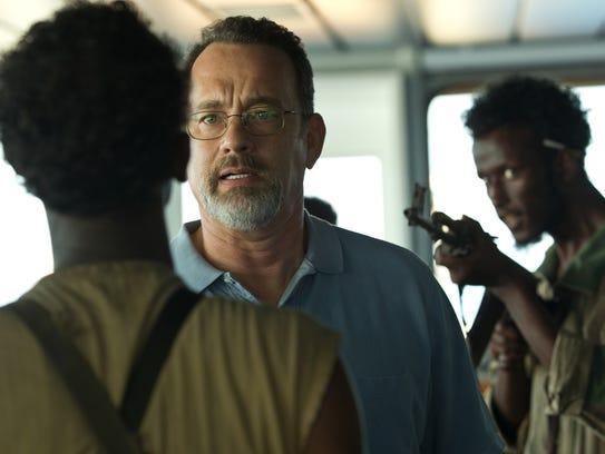 Tom Hanks starred as Captain Richard Phillips in the