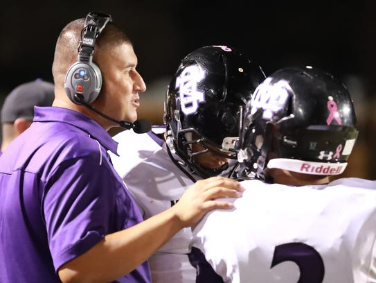 Mission Oak's David Flores is in his second year as