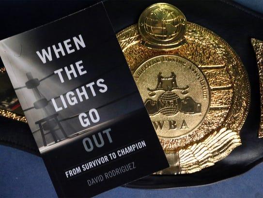 Retired El Paso boxer David Rodriguez chronicles his