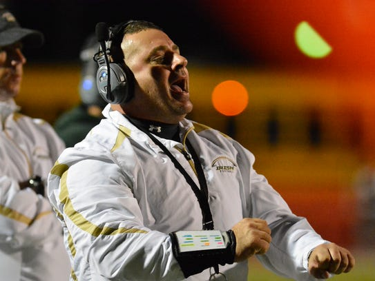 York Catholic head coach Eric DePew was named the Division