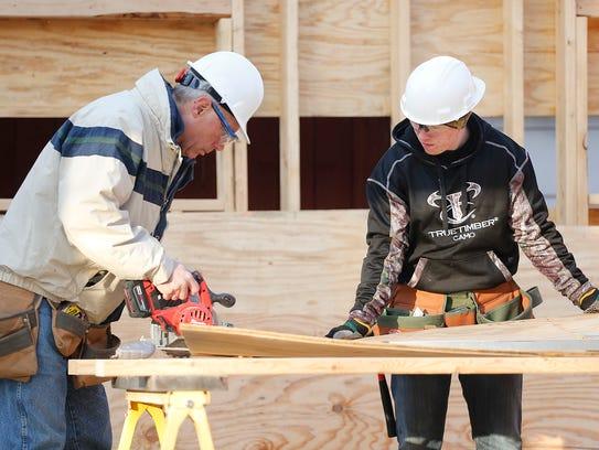 Fond du Lac High School Building Construction teacher