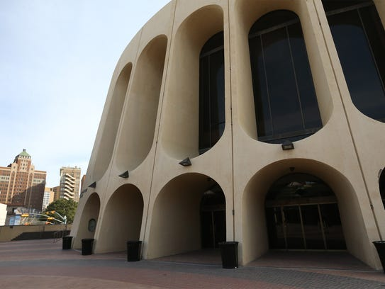 The Abraham Chavez Theatre, built in the 1970s, was
