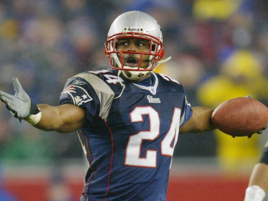 Ty Law won three Super Bowls (2001, 2003-04) with the Patriots.