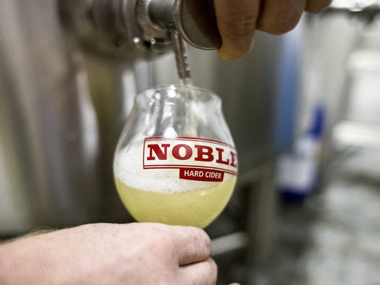 Noble Cider's taproom will be the site of an upcoming