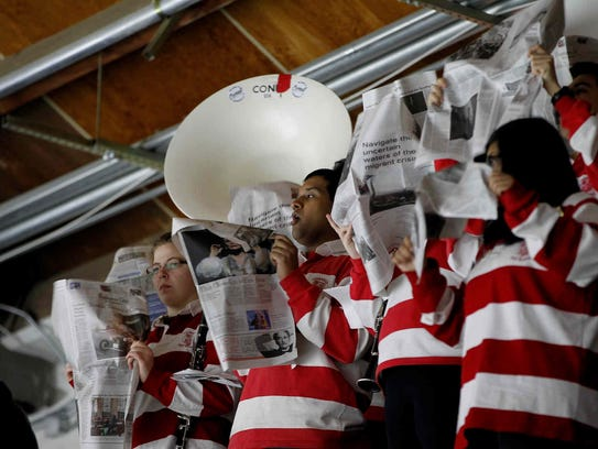 Cornell tied Yale, 2-2, in an ECAC Hockey game on Saturday,