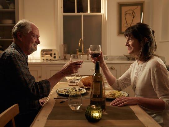 Tony (Jim Broadbent) and Margaret (Harriet Walter)