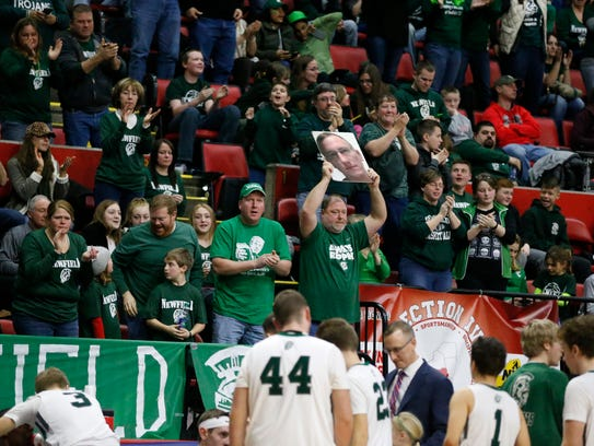 Newfield Nation came out in full force for last year's Final Four at the Arena.