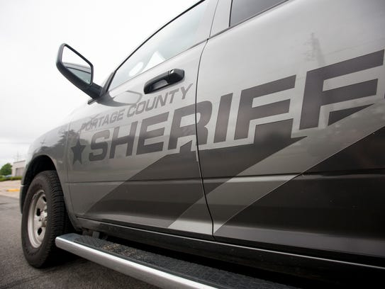 A Portage County Sheriff's vehicle in Stevens Point,