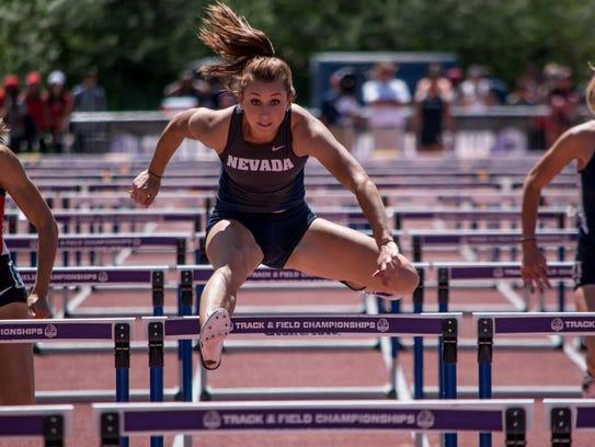 Nicole Wadden's top heptathlon score this year ranks