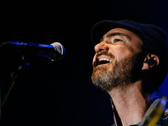 The Shins perform during the 80/35 music festival on