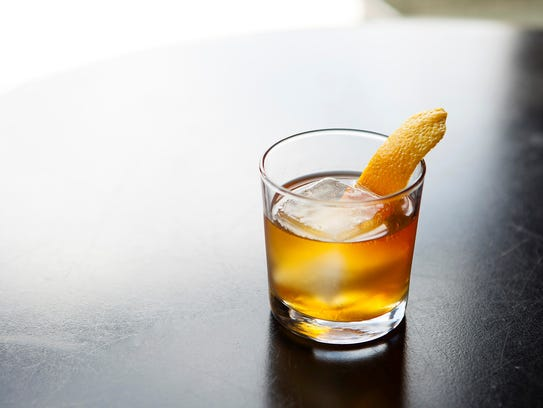 A cocktail at Roosterspin.