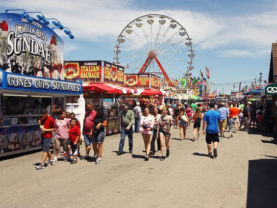 The 75th anniversary of the New Jersey State Fair at