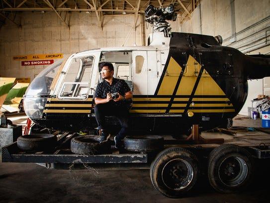 Justin Baldovino, director of cinematography for Dreamstorm