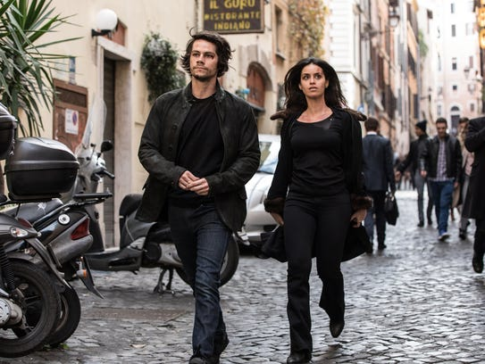 Mitch Rapp (Dylan O'Brien) and fellow agent Annika