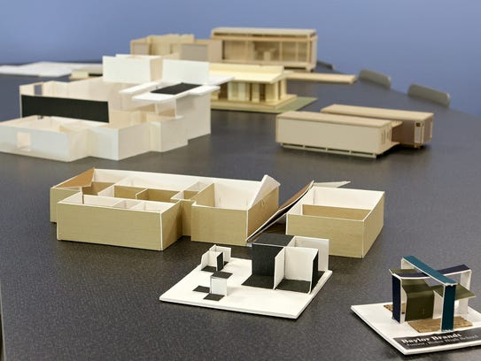 Examples of student work are displayed in the model