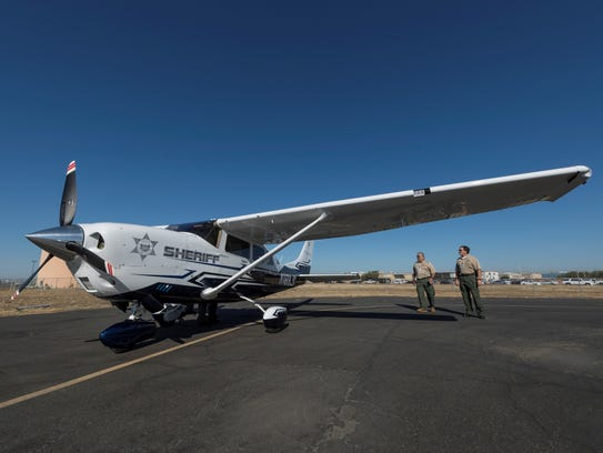 This Cessna 206 is one of two new planes put in service