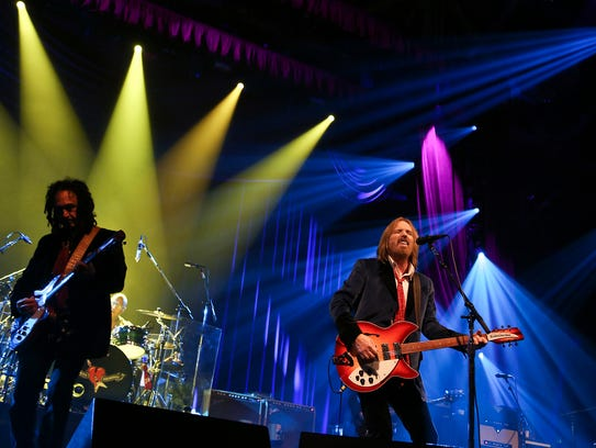 Florida's own Tom Petty & the Heartbreakers packed