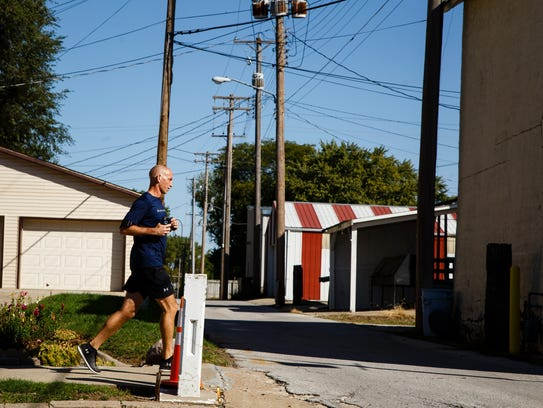 """Running has been my savior because it keeps his memory"
