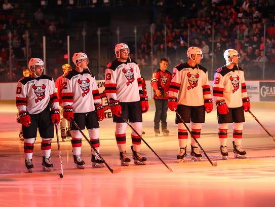 The Binghamton Devils take the ice Saturday in front