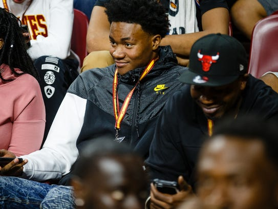 Iowa State recruit Zion Griffin from Hinsdale South