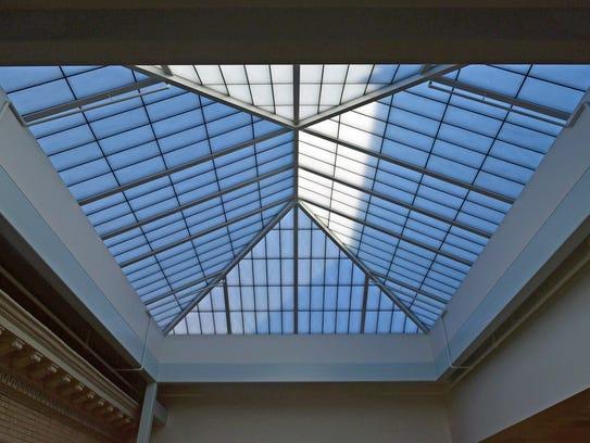 A translucent skylight will provide natural light at