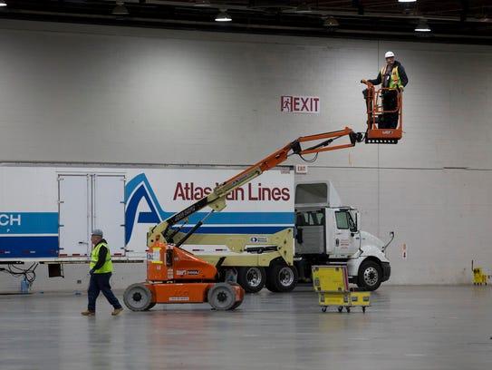 Cobo Center in Detroit begins transformation for the