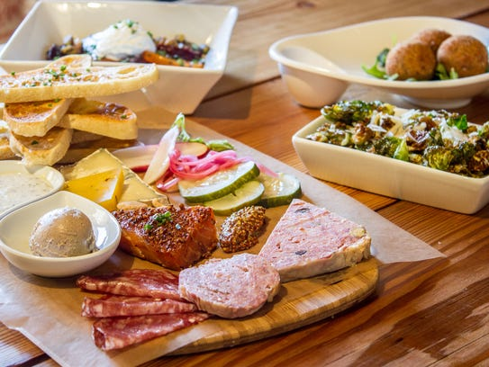 A selection of charcuterie from Salty Sow in Phoenix.