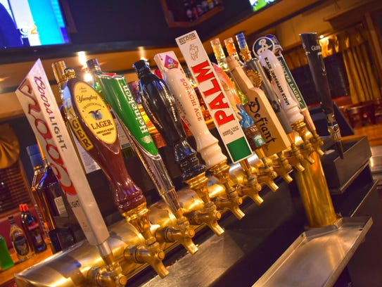 Gerry's serves plenty of traditional beer on tap from