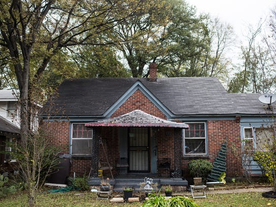 "November 21, 2017 - The house at 666 Edith in the ""Soulsville"""