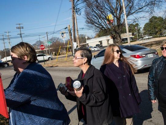 December 14, 2017 - People from Merge Memphis and volunteers