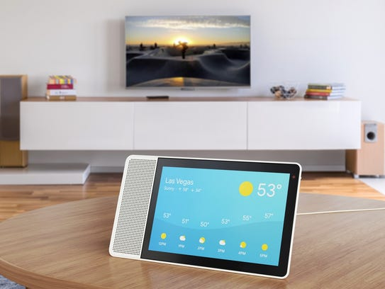 Lenovo Smart Display features the Google Assistant