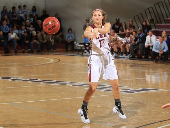 Powell High graduate Tori Lentz is back on the court