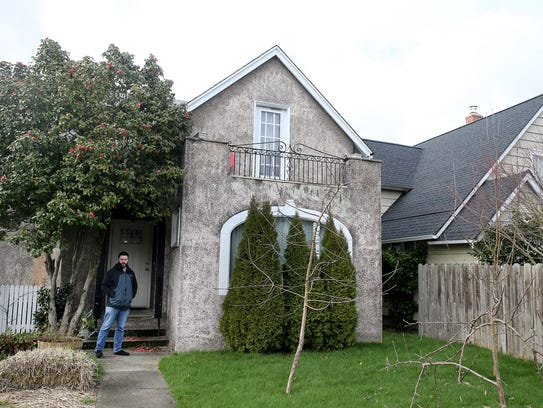 Jeffrey Coughlin at his Bremerton home built in 1918.