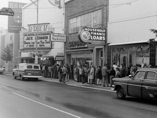 The Roxy in 1963