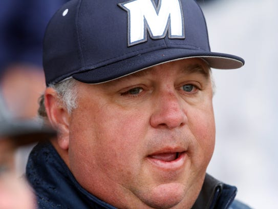 Monmouth University baseball coach Dean Ehehalt played