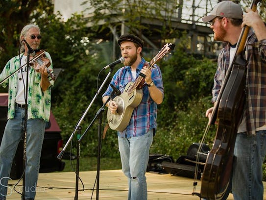 Local string band The Devils Kin plays Friday at the