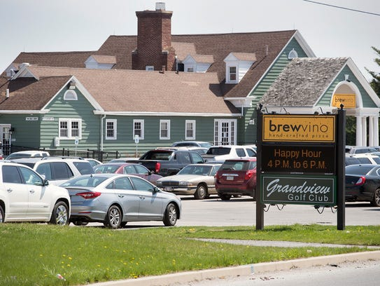 A group of black women accuse Grandview Golf Club in Dover, Pa., of discriminating against them while they were playing Saturday, April 21, 2018. The parking lot is full Sunday, April 22, 2018.