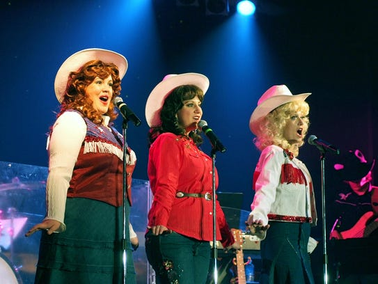 The Honky Tonk Angels perform at the Dutch Apple Dinner