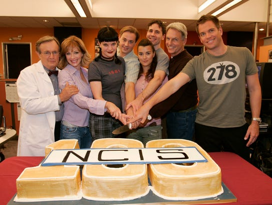 """With the departure of Pauley Perrette, the only remaining original 'NCIS' cast members are Mark Harmon (who plays team leader Leroy Jethro Gibbs) and David McCallum (medical examiner Donald """"Ducky"""" Mallard)."""